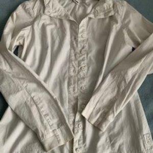 European Culture cotton shirt/blouse